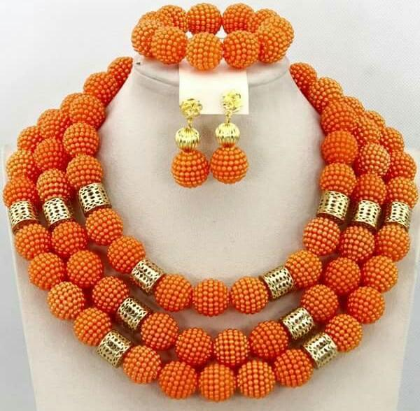 Complite Set Beads Jewelry Set - Ladybee Swiss Lace