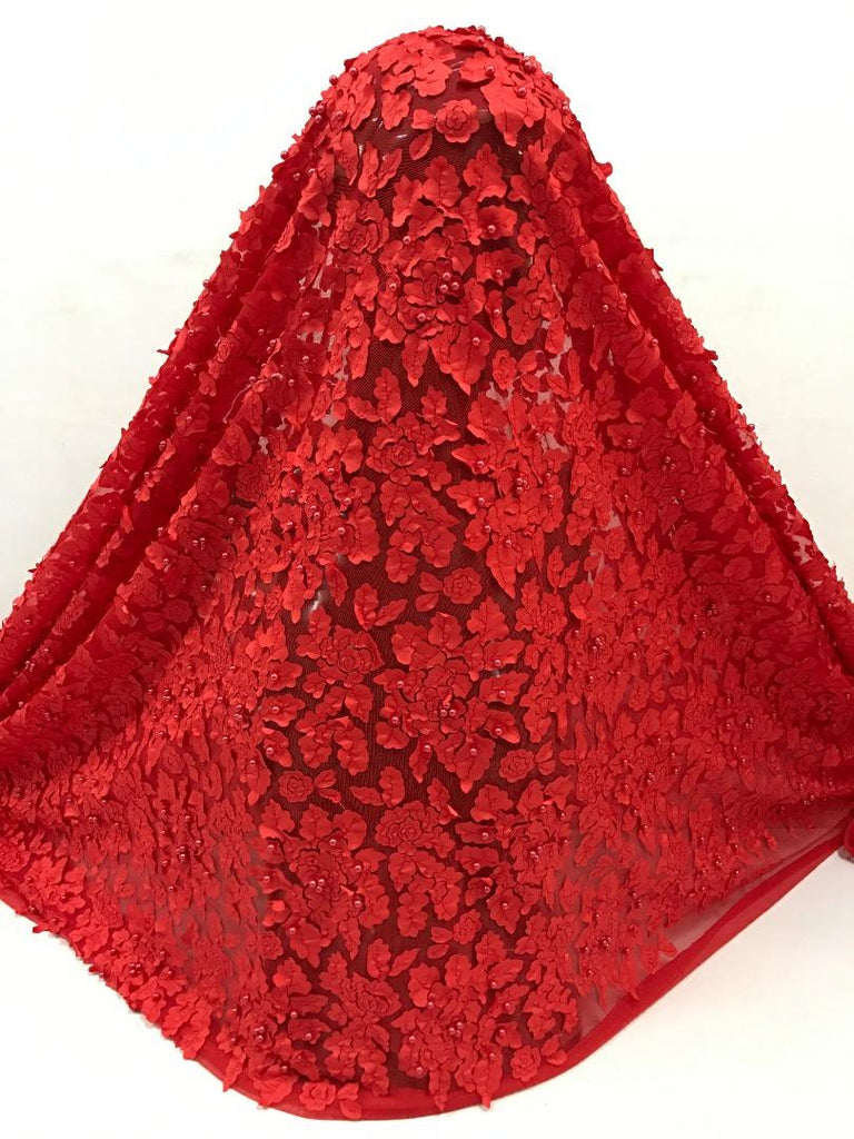 Latest African Tulle Lace Fabric - Ladybee Swiss Lace