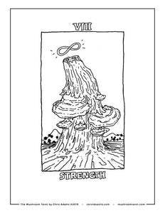 Strength Coloring Page