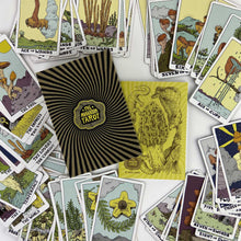 Load image into Gallery viewer, PREORDER The NEW Mushroom Tarot Full Color 81 Card Deck ( 1st Edition )