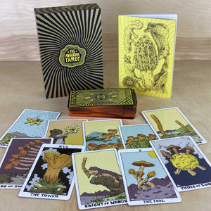 The Mushroom Tarot Full Color 81 Card Deck ( 1st Ed. 2020 )