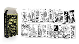 B&W Major Arcana ONLY, 1st Edition Tarot Deck