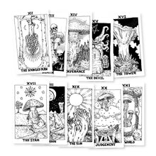 Load image into Gallery viewer, B&W Major Arcana ONLY, 1st Edition Tarot Deck