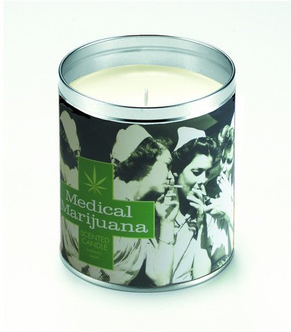CBD Medical Marijuana Nurses Candle