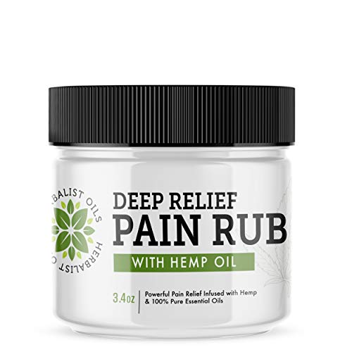 Max Strength Relief Pain Rub Cream