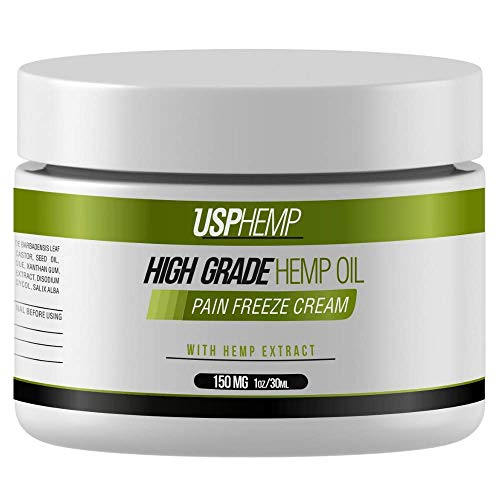 High Grade Hemp Oil Pain Freeze Cream