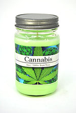 Cannabis Weed Marijuana Hemp 100% Soy 16oz Candle