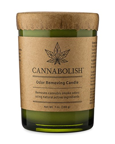 Cannabolish Cannabis Smoke Odor Removing Candle, 7 oz.