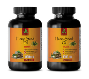 Hemp Seed Oil 1000mg Capsules