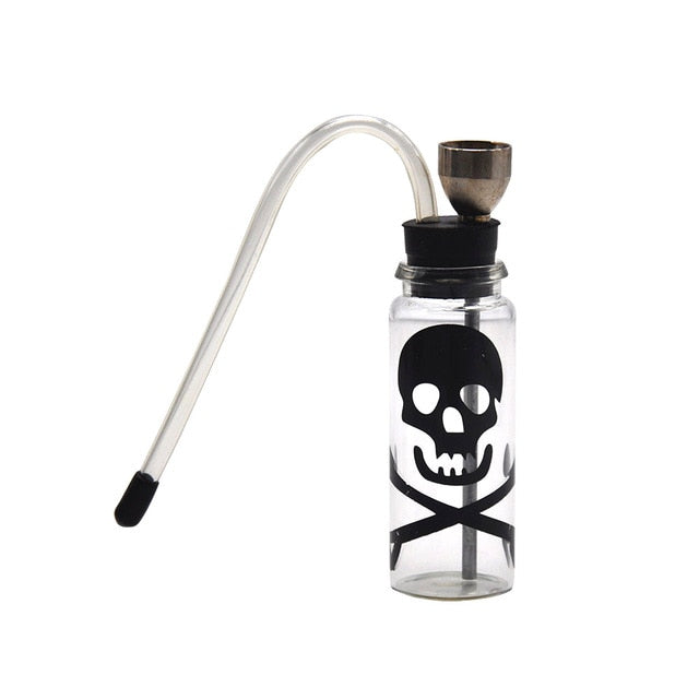 Glass Bottle Water Pipe Bong