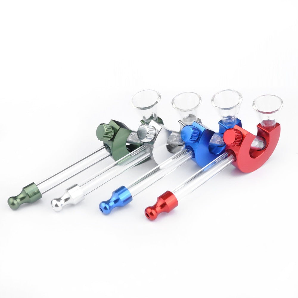 Portable Smoking Mini Glass Pipe