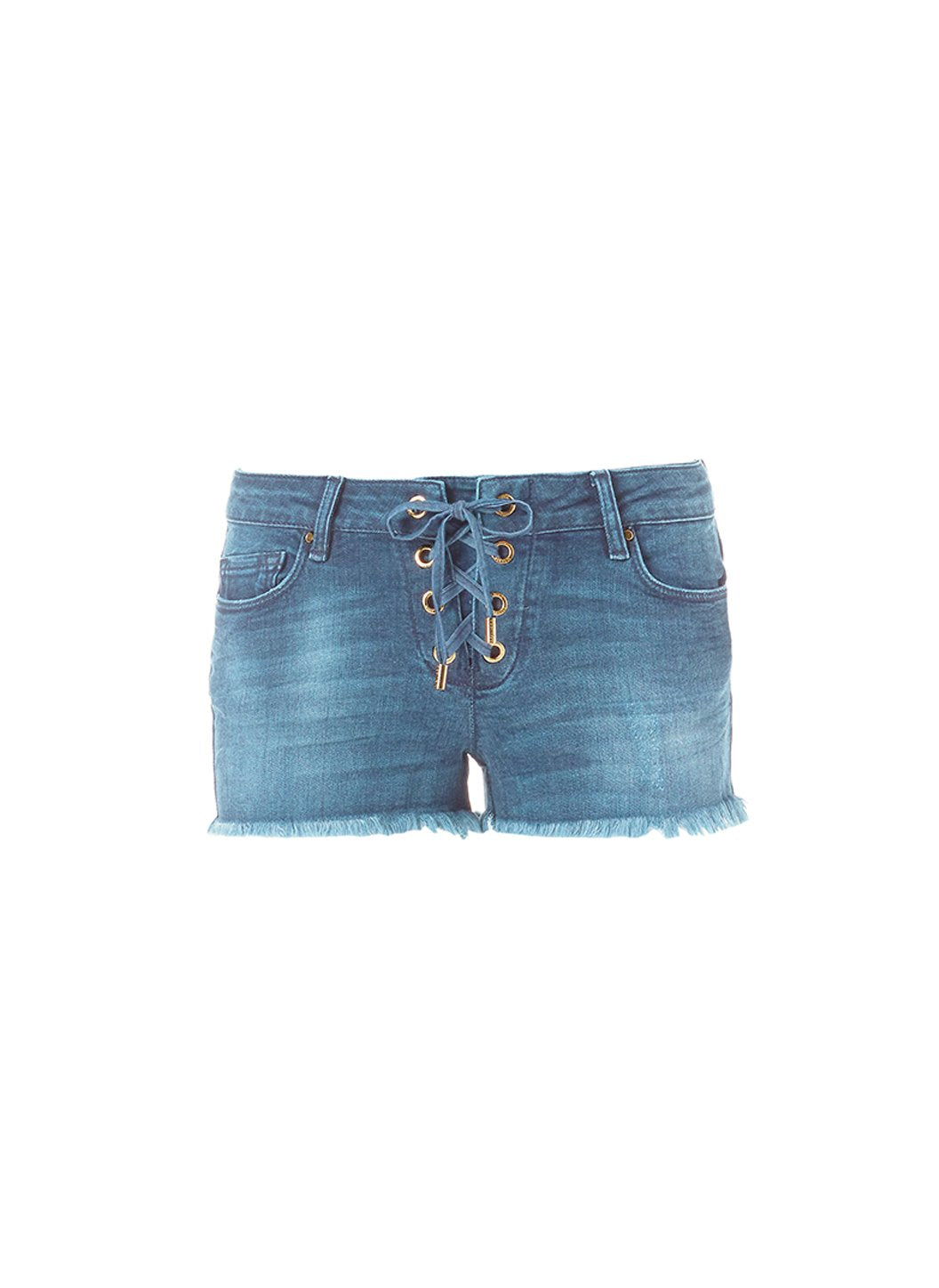 Alexi Denim Shorts Cutout