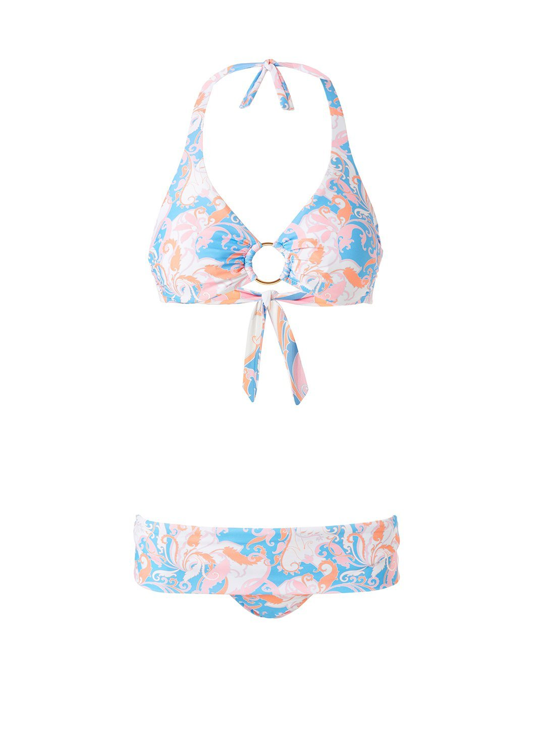 Brussels Baroque Blush Bikini Bottom