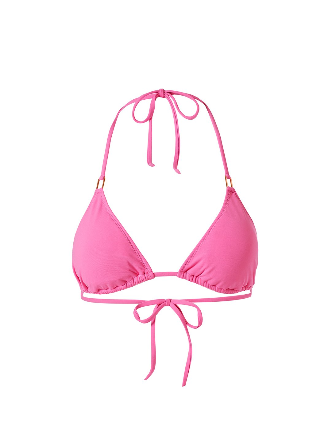 Cancun Flamingo Bikini Top Cutout