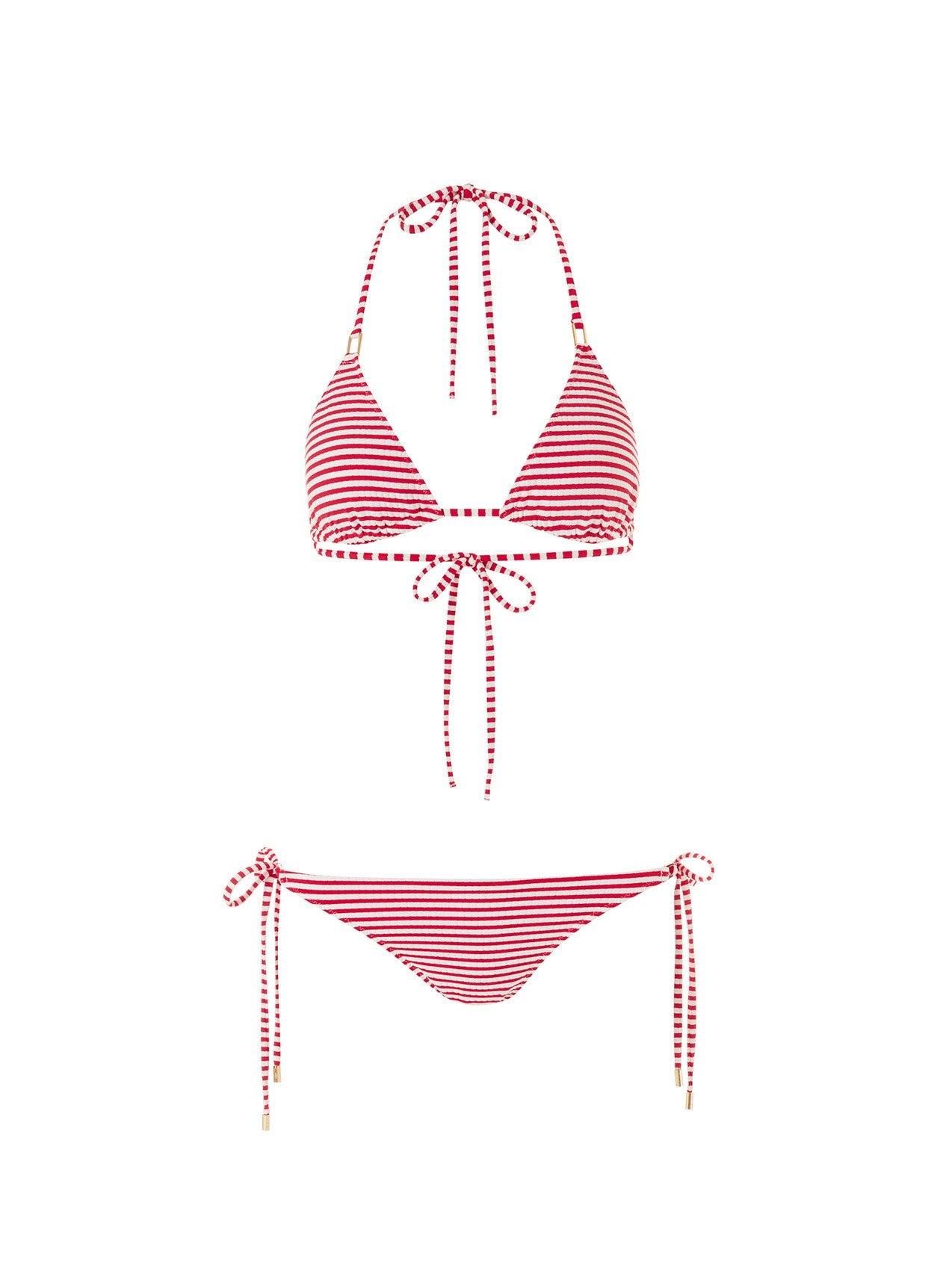 Cancun Nautical Red Bikini