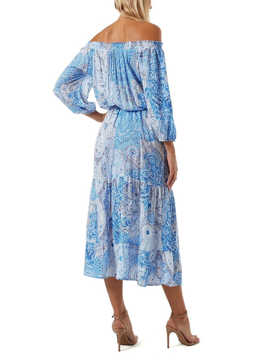 Condor Blue Paisley Dress