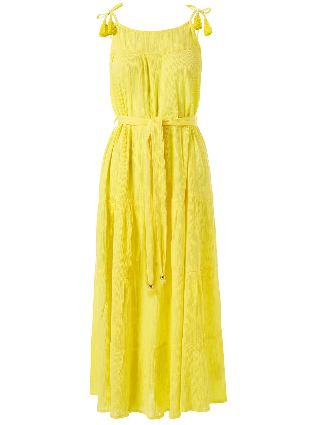 Fru Lemon Dress Cutout