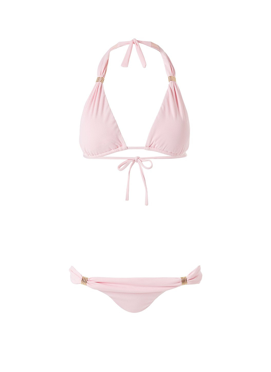 Martinique Baroque Blush Bikini Bottom CUTOUT