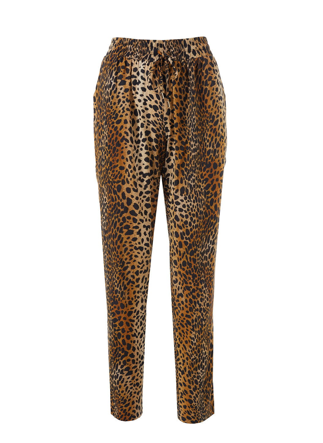 Jude Cheetah Print Trousers