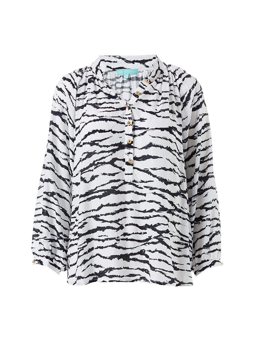 Lauri Tiger Print Shirt