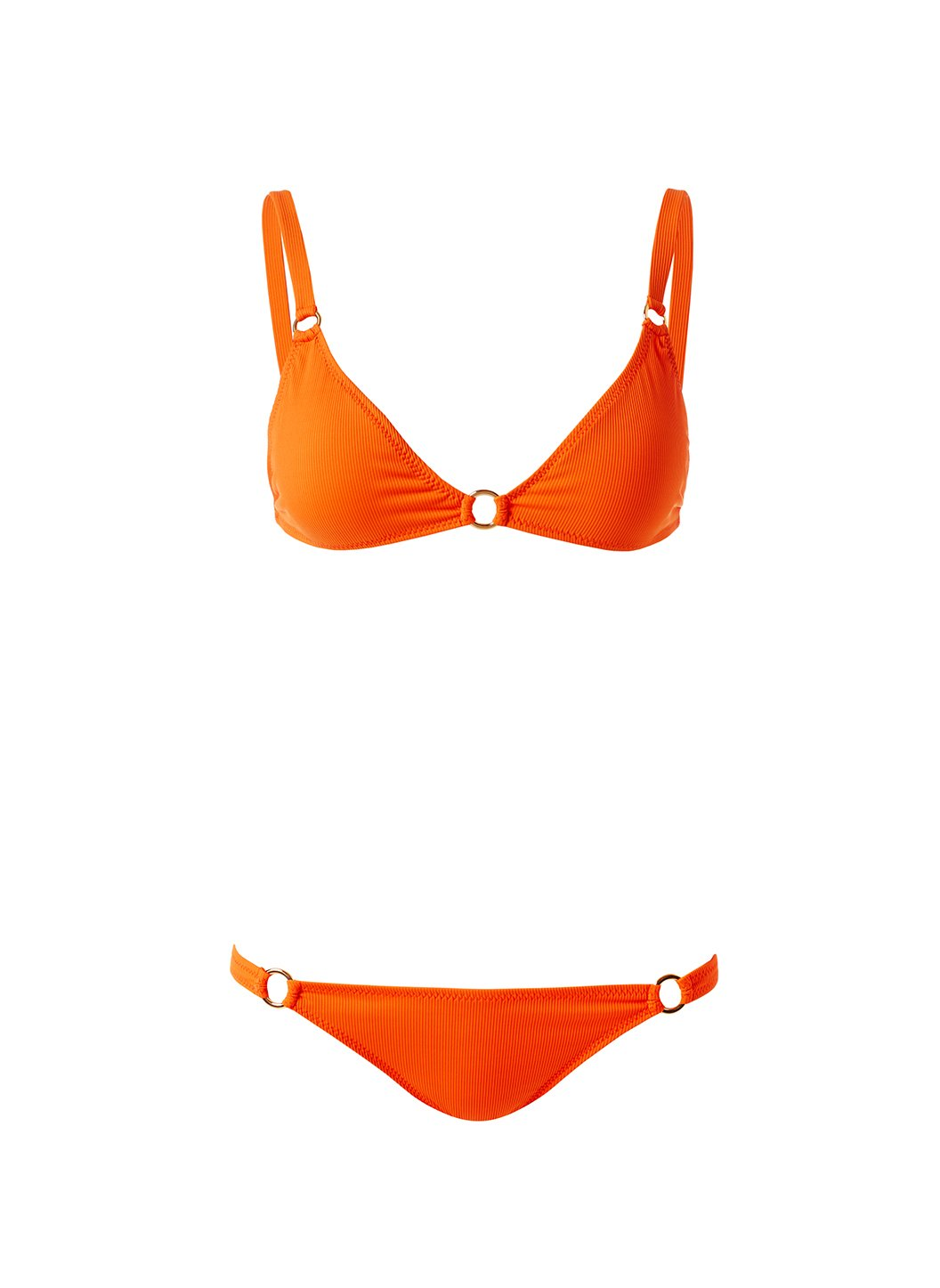 Montenegro Ribbed Papaya Bikini