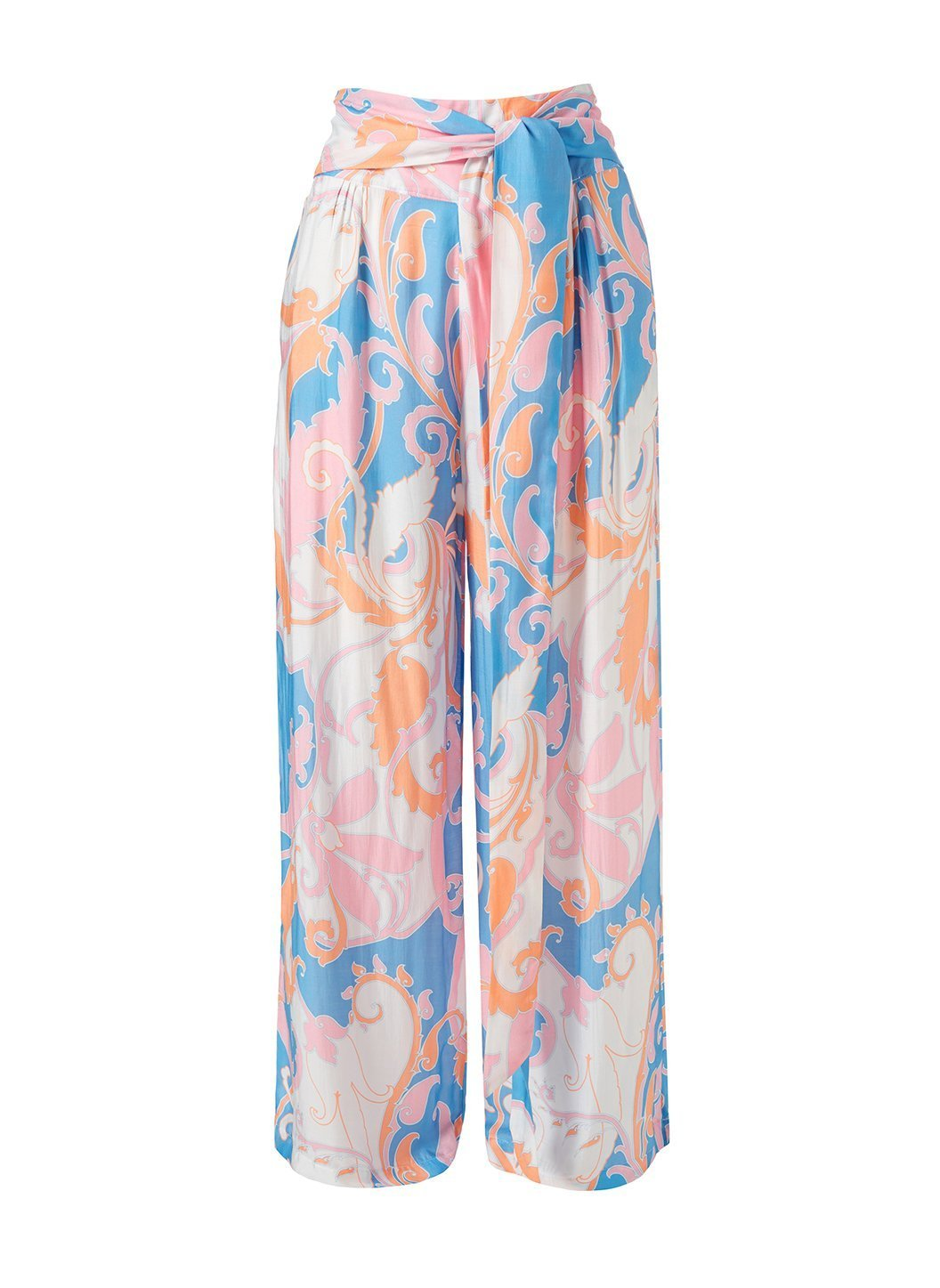 Natasha Baroque Blush Trousers Cutout
