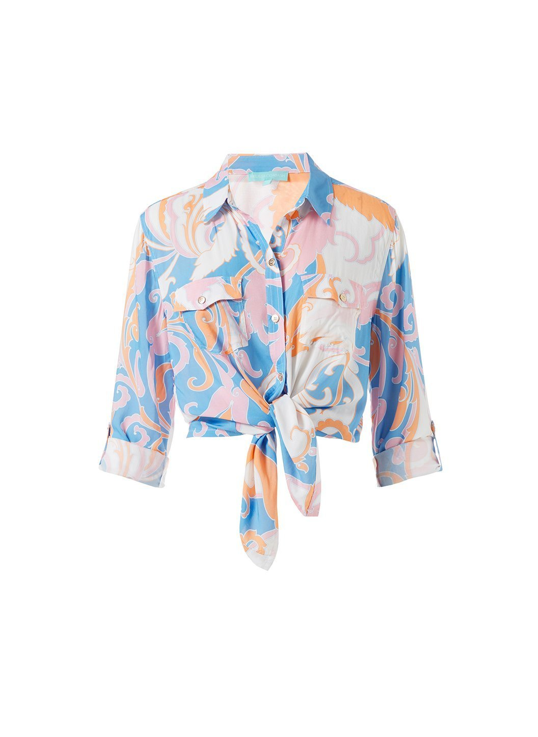 Robyn Baroque Blush Shirt Cutout