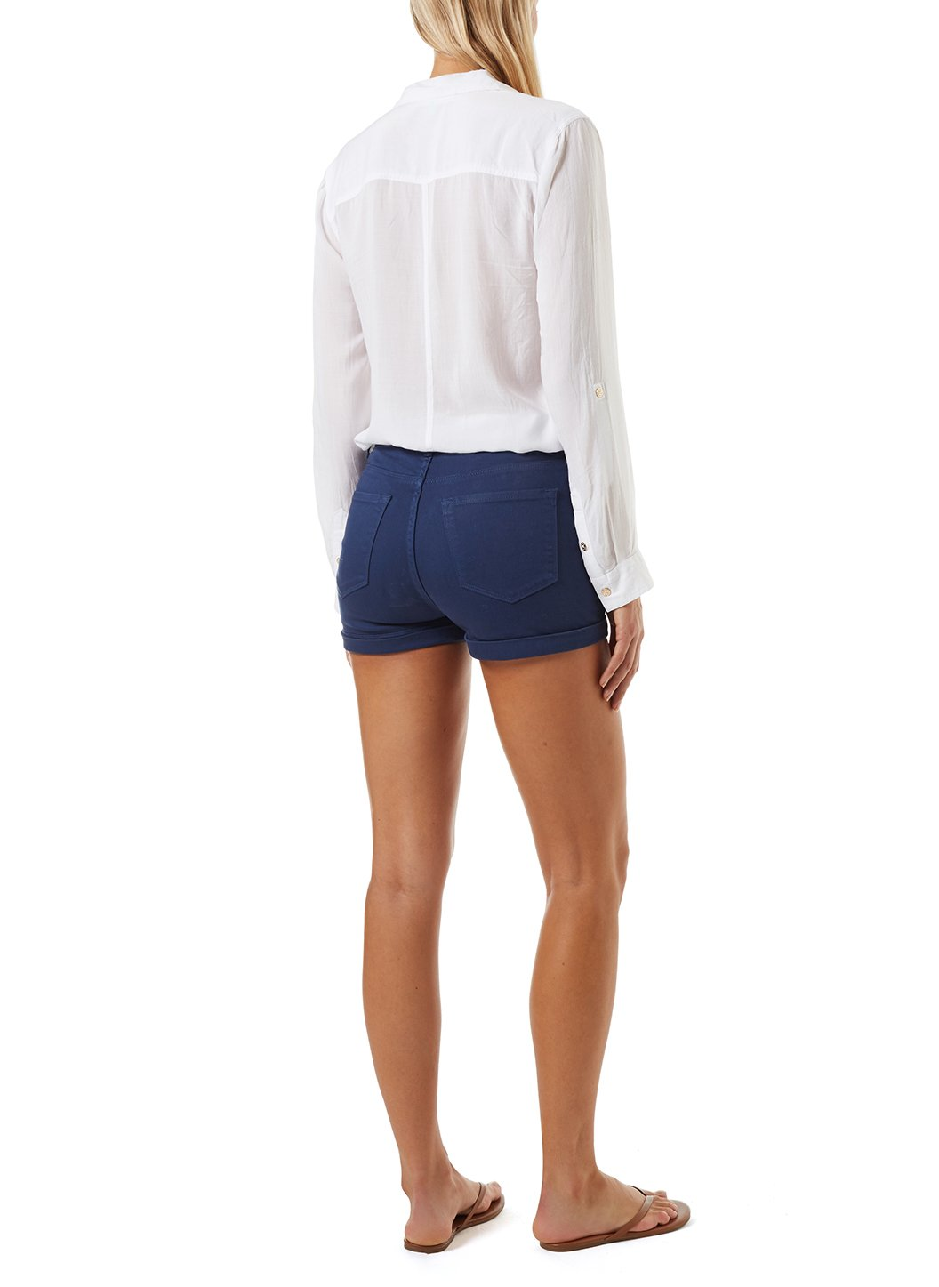 Yanni Navy Shorts