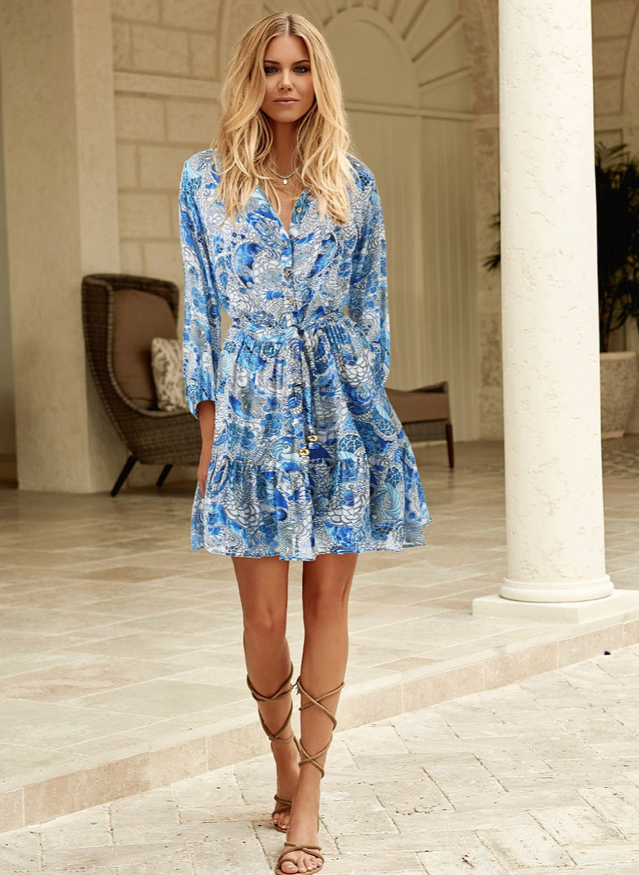 Bluebird Fantasy Dress
