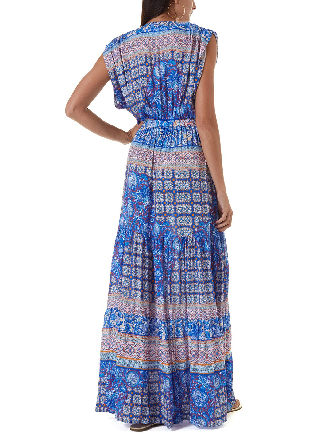 aria bohemian long dress