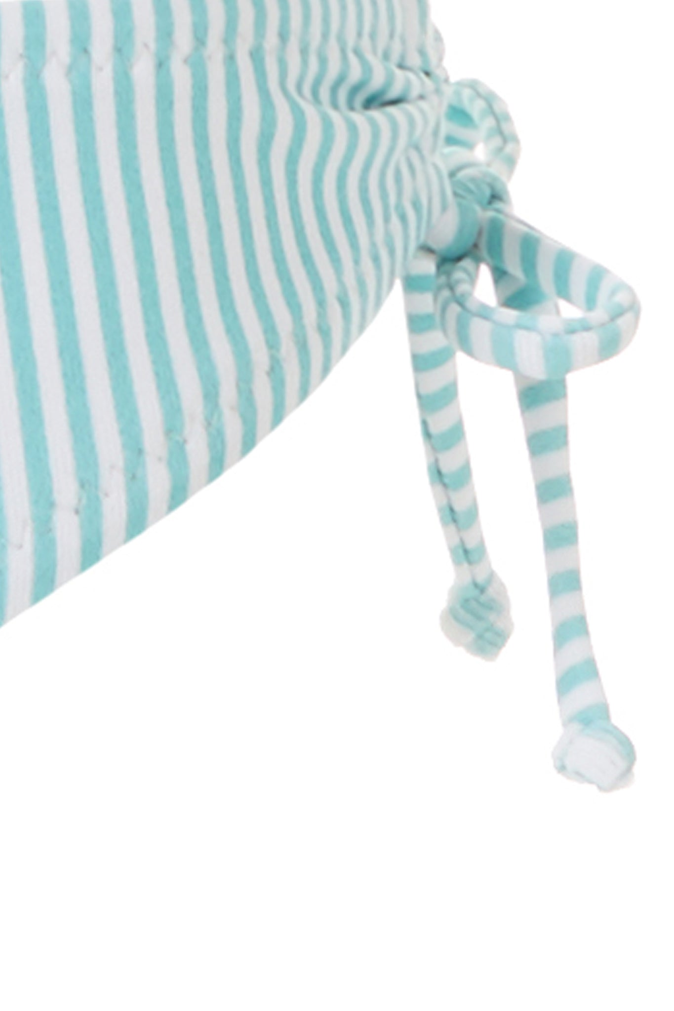 Baby New York Mint Stripe Triangle Bikini