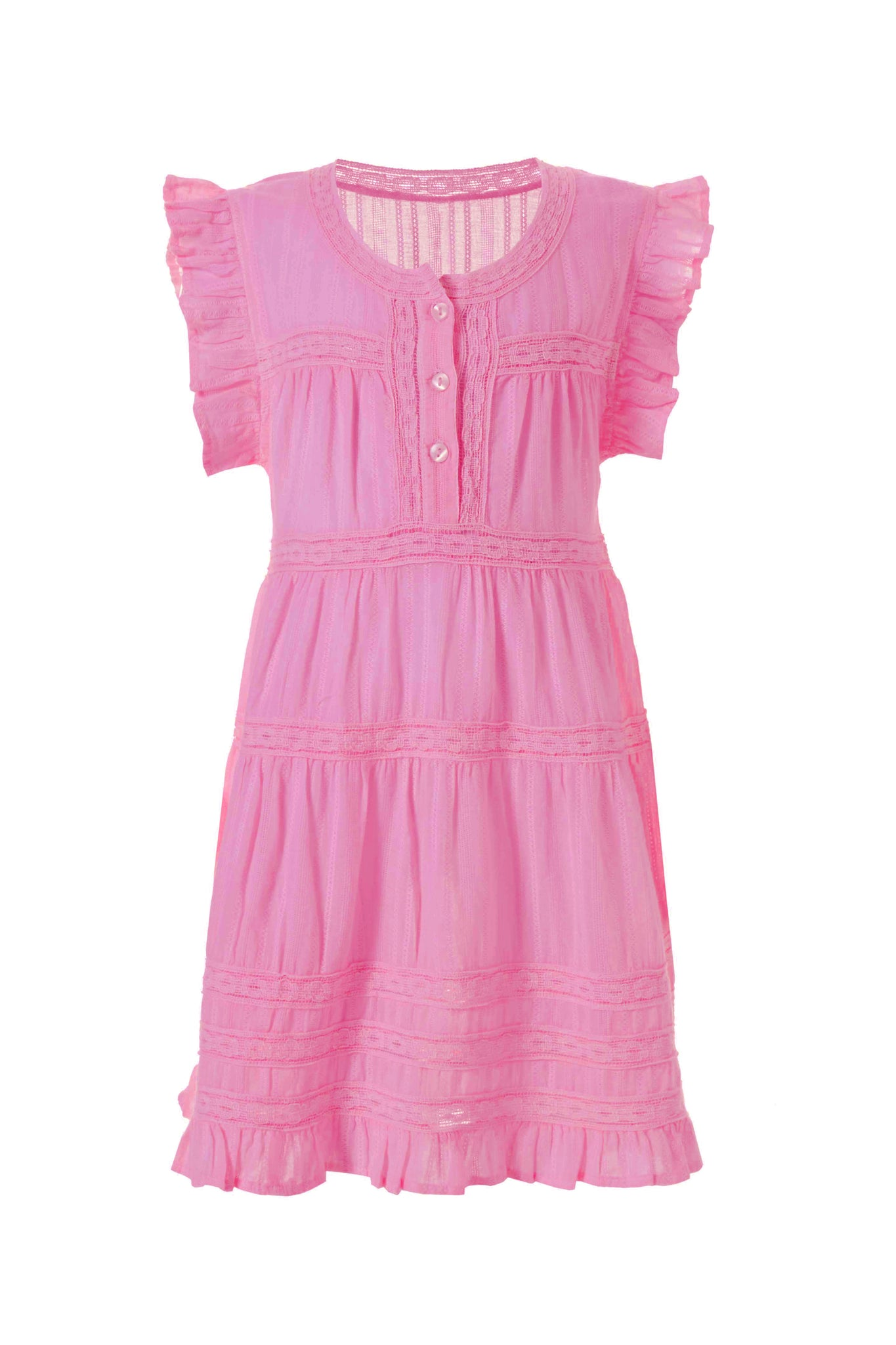 Baby Rebekah Rose Smock Dress