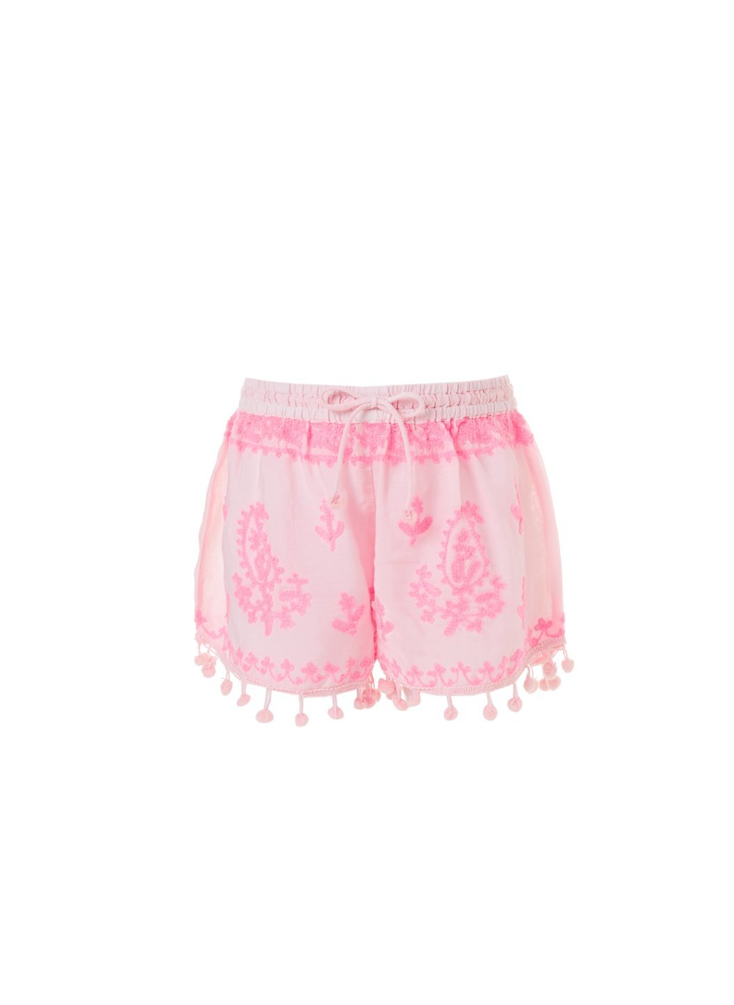 baby shorts pale pink neon 2019