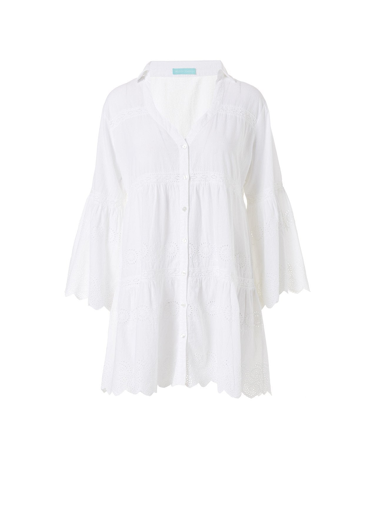 Becky White Short Kaftan