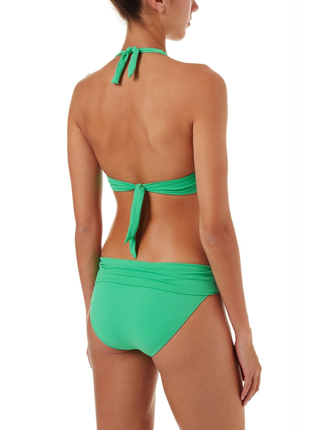 brussels green halterneck ring supportive bikini 2019 B