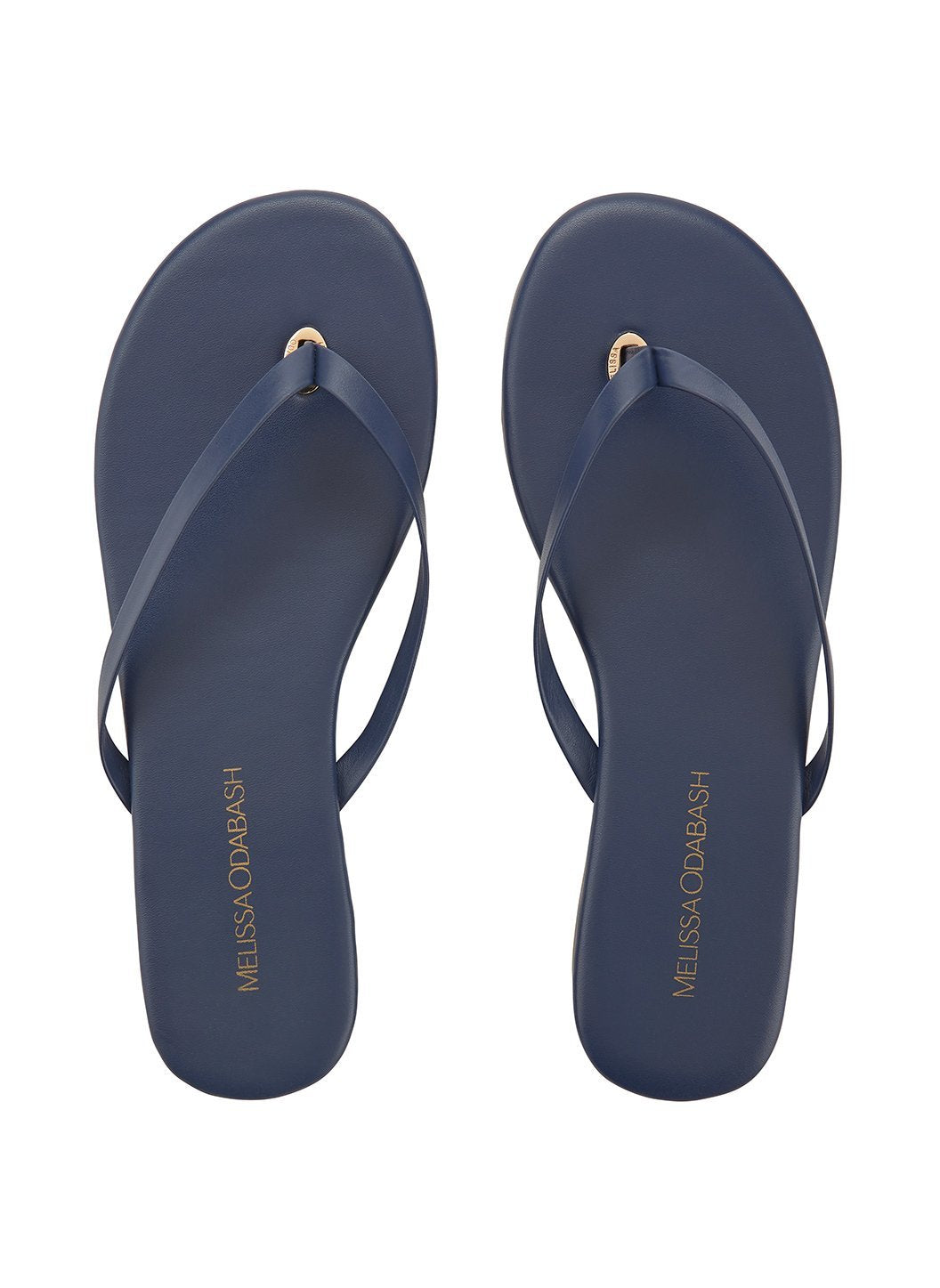 flip flop leather navy 2019