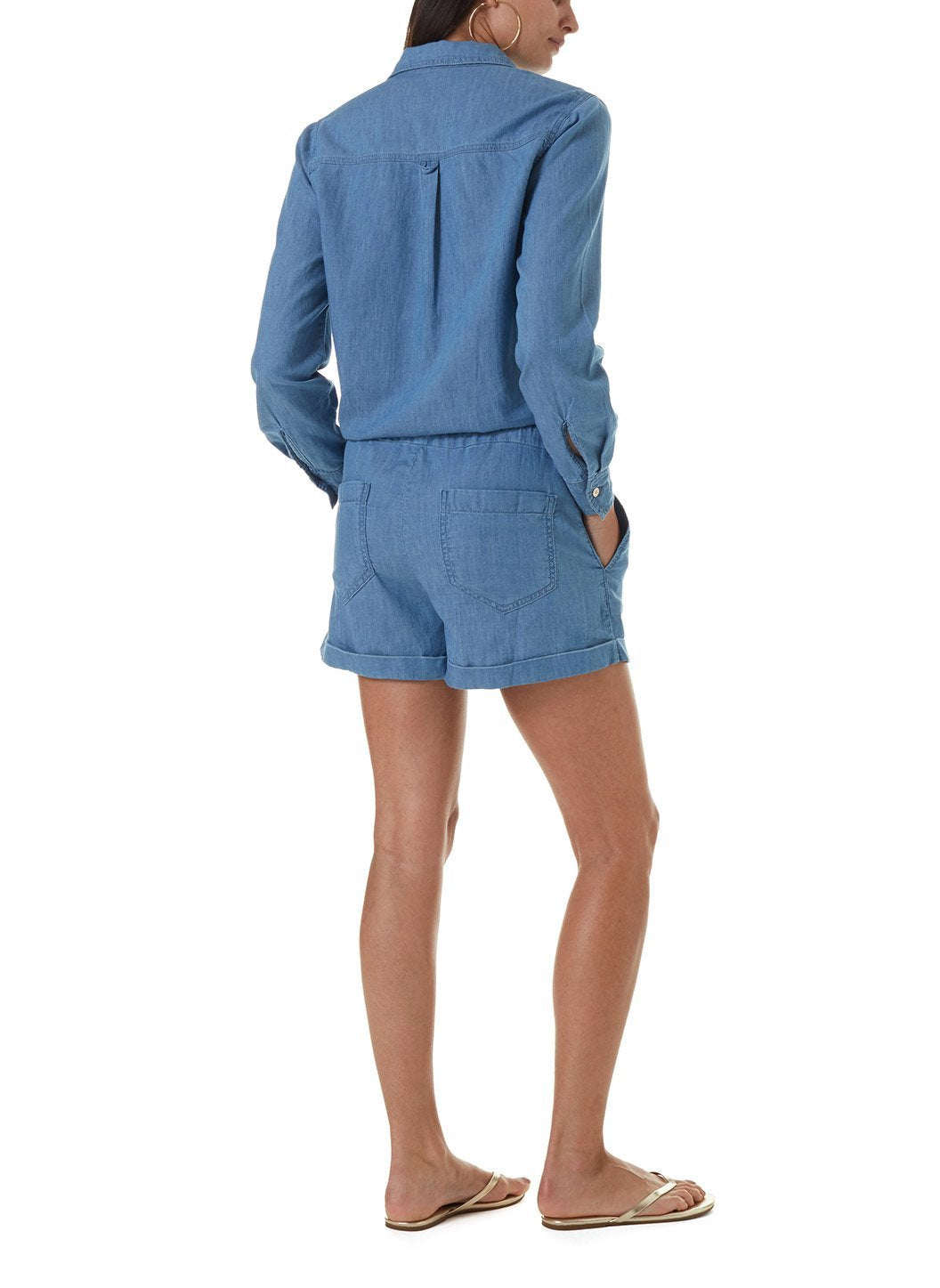 Honour Denim Playsuit