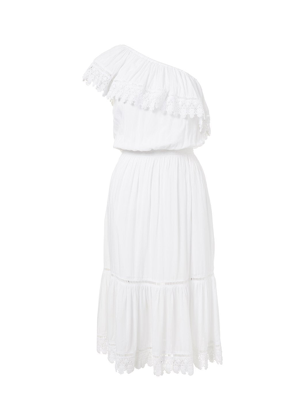 jo white oneshoulder embroidered frill midi dress 201