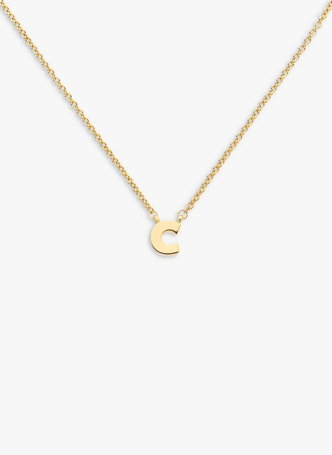 letter _c_ pendant necklace 2019