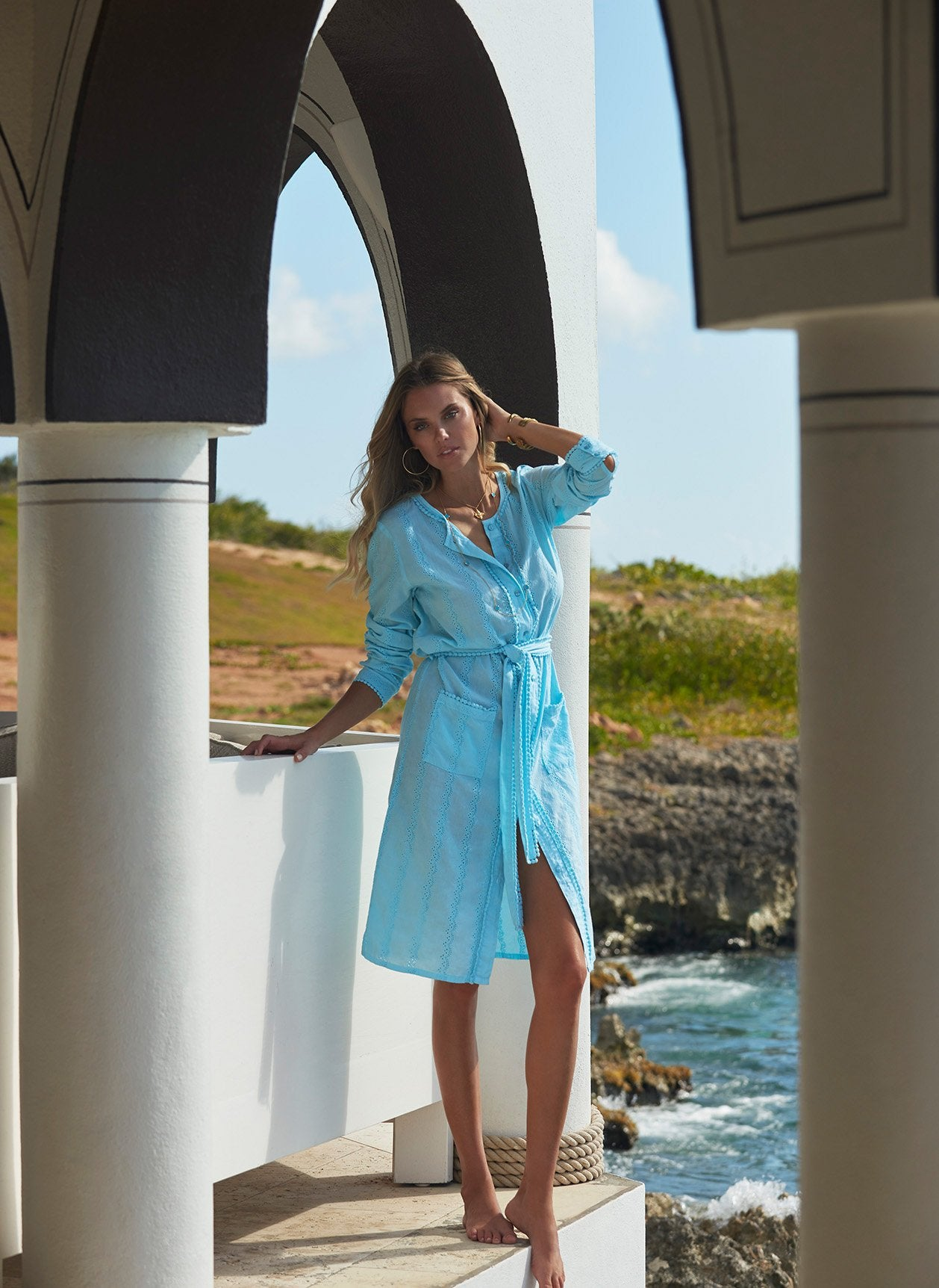 Patty Celeste Midi Kaftan