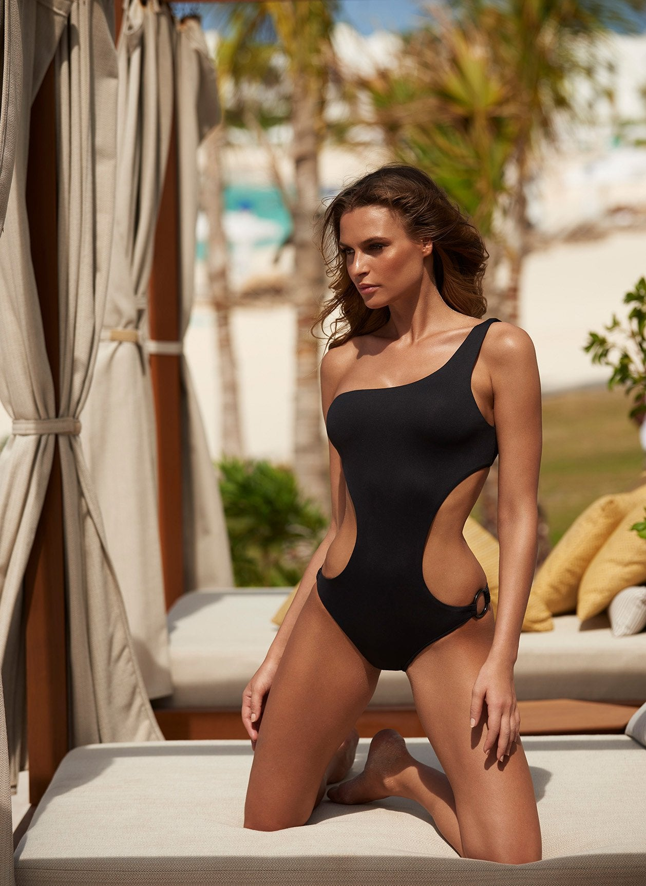 Santiago Black Swimsuit