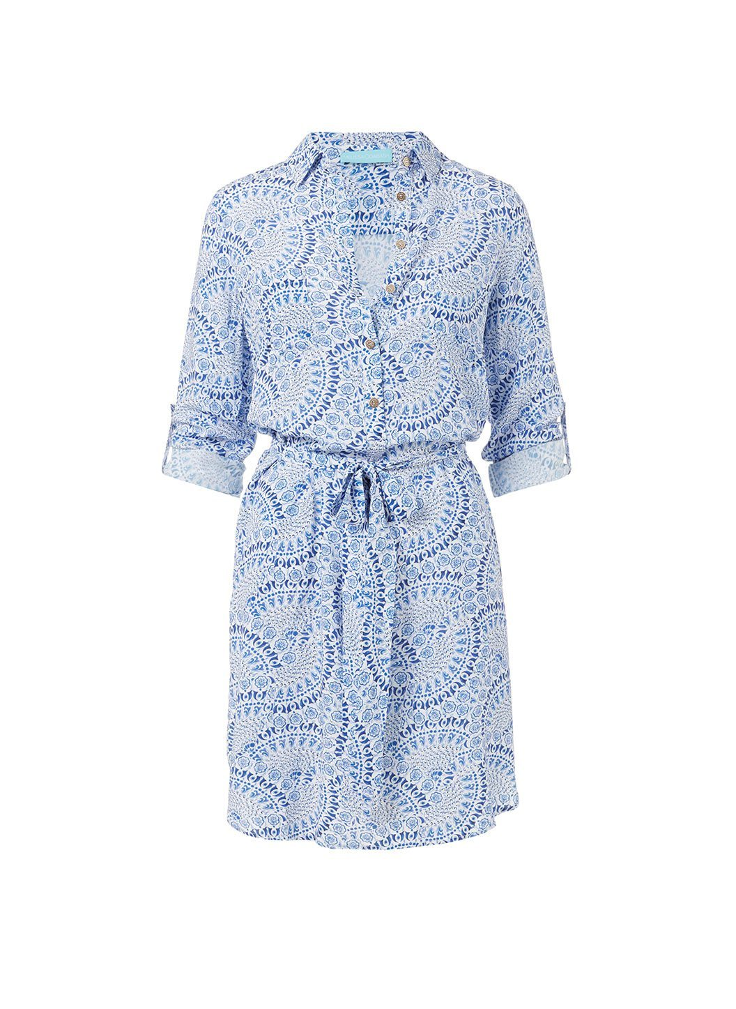 lois capri button down belted shirt dress 2019