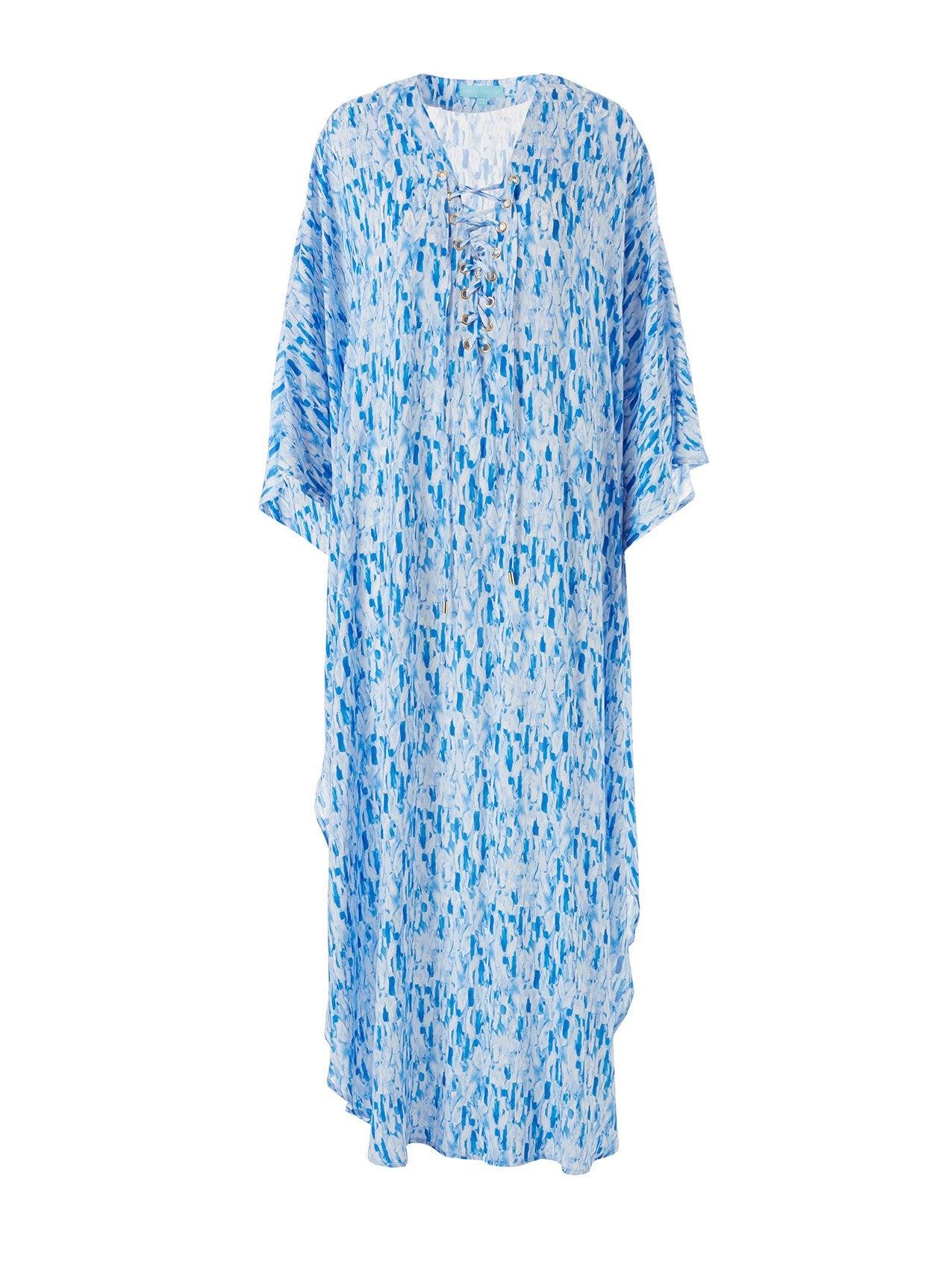 Lola Waterfall Lace Up Maxi Kaftan 2020