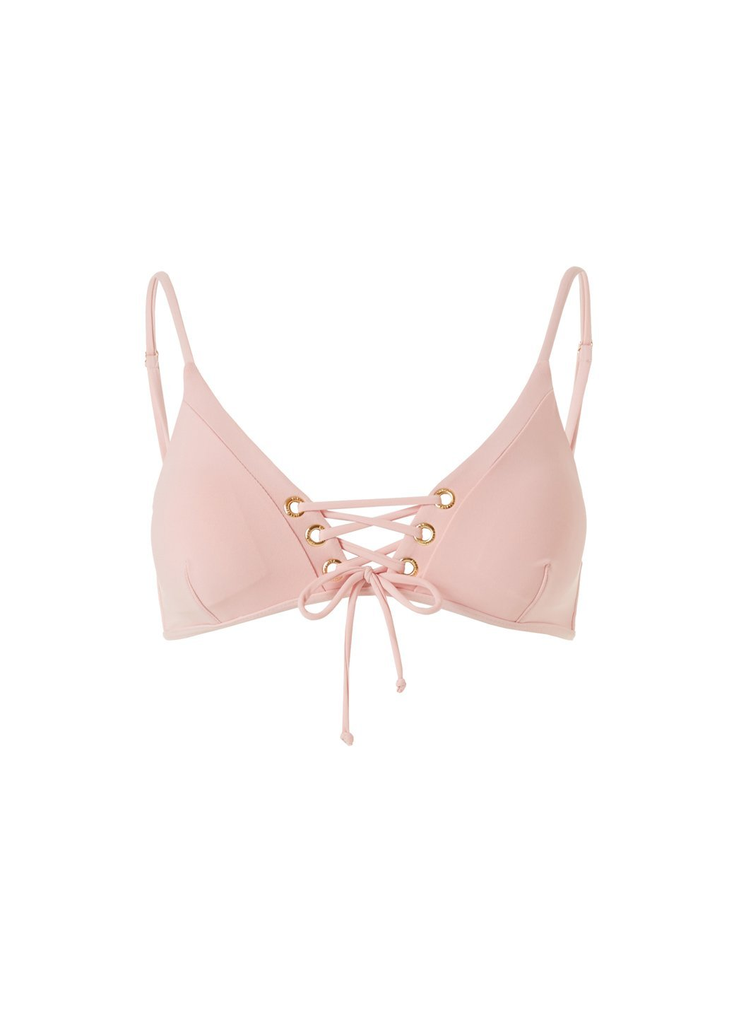 marrakech blush bikini top