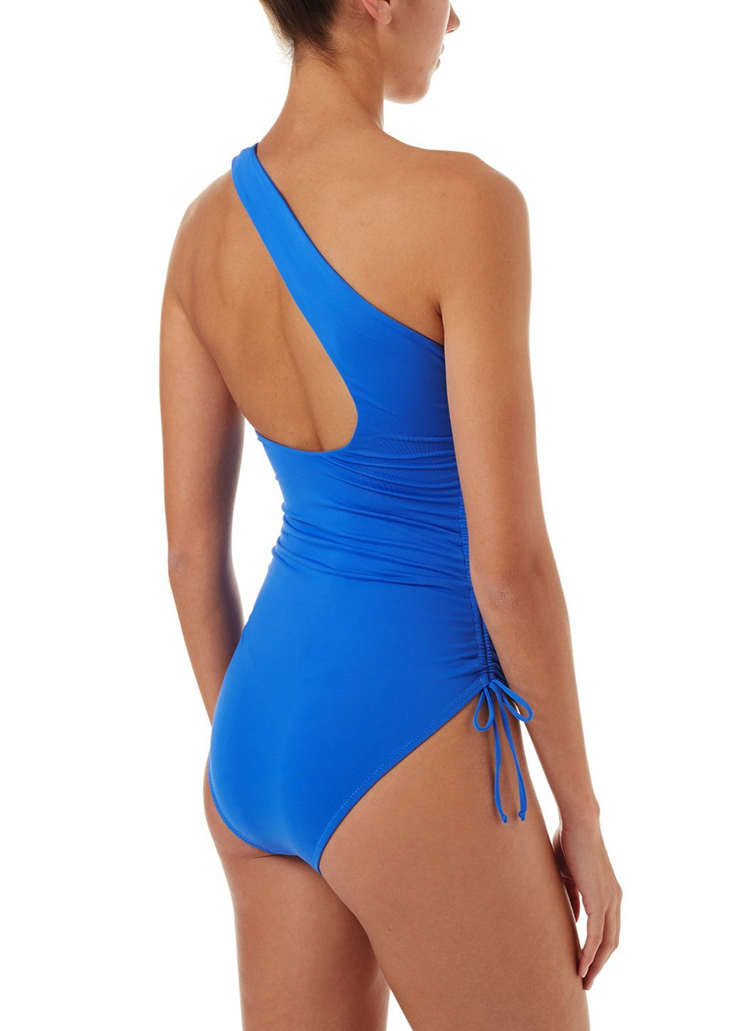 polynesia cobalt oneshoulder ruched onepiece swimsuit 20190B