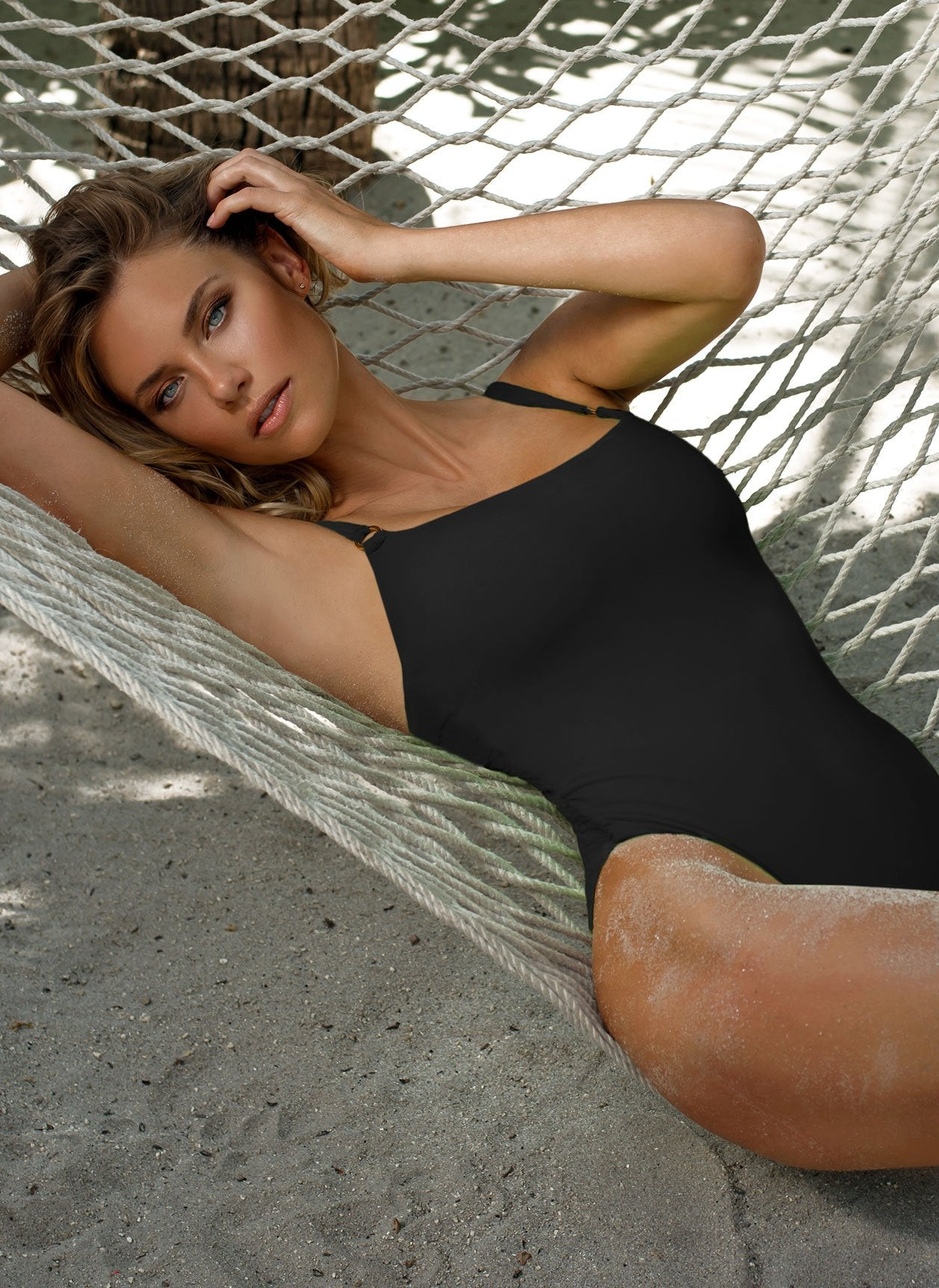 Tosca Black Swimsuit Lifestyle