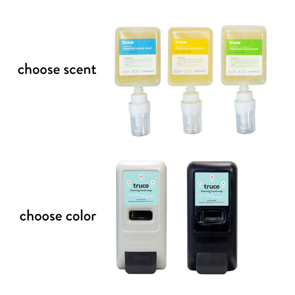 Sample Set - Wall Mount and Foaming Hand Soap