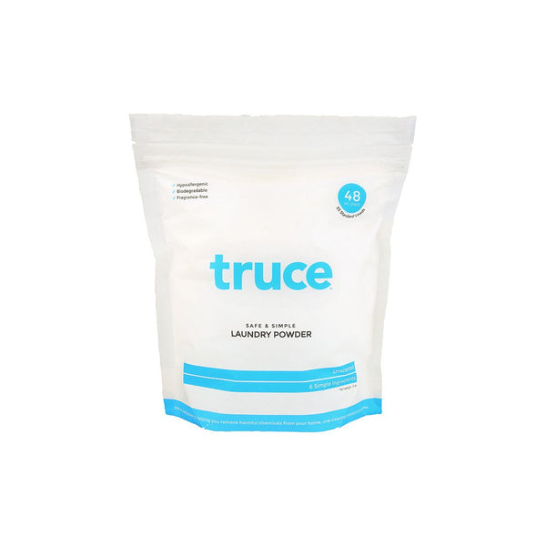Truce Safe and Simple Laundry Powder, unscented, large