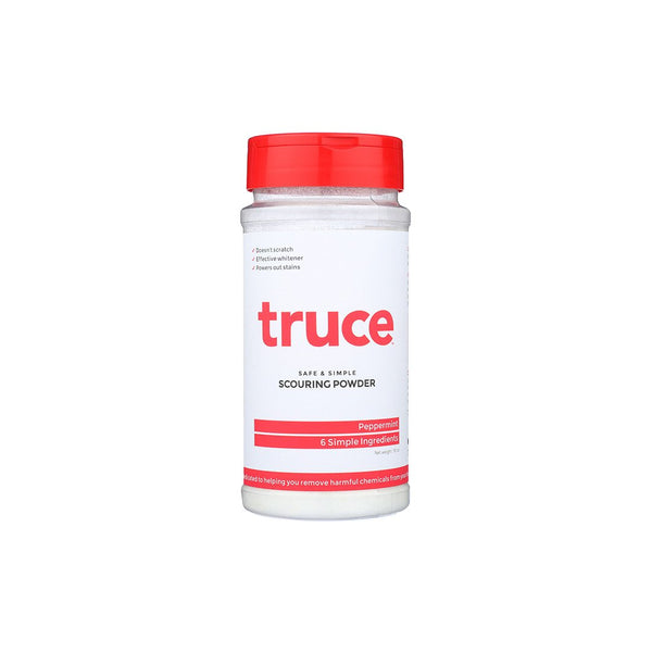 Truce Scouring Powder for scrubbing stains and surfaces