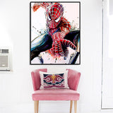 Super Hero Spiderman Movie Portrait Wall Art Canvas for Living Room - Best Room Tapestry
